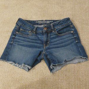 American Eagle Outfitter Cut Off Shorts size 4